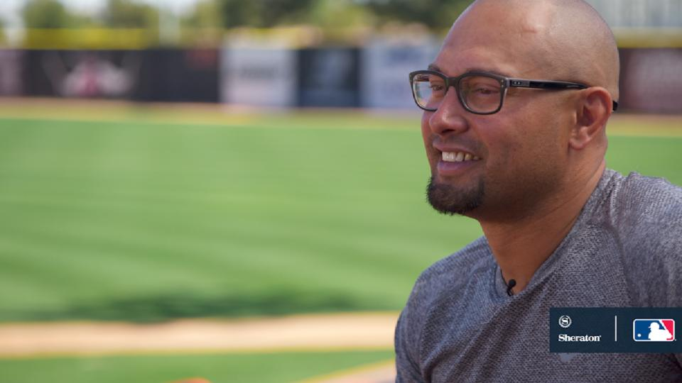 Meaningful reunion for Victorino