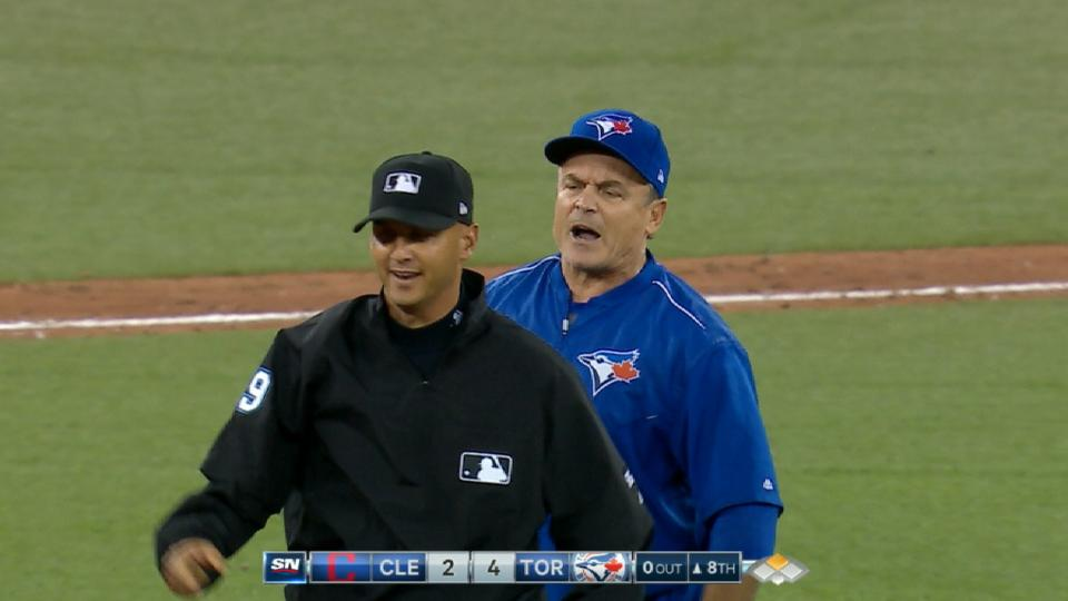 Gibbons gets ejected in the 8th