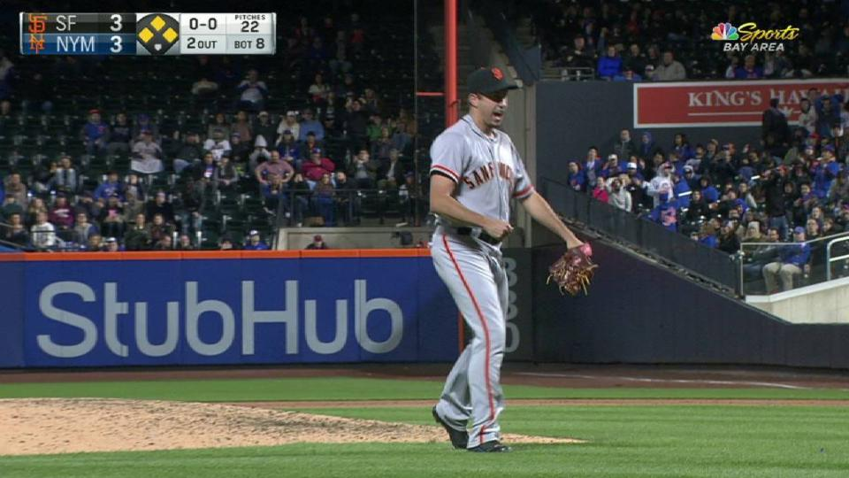 Law escapes a bases-loaded jam