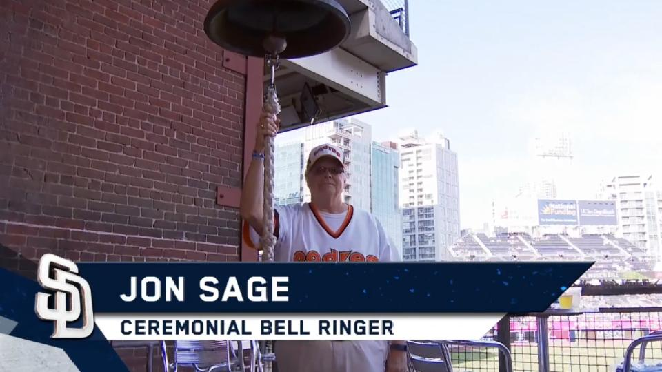 4/22/17: Sage rings the bell