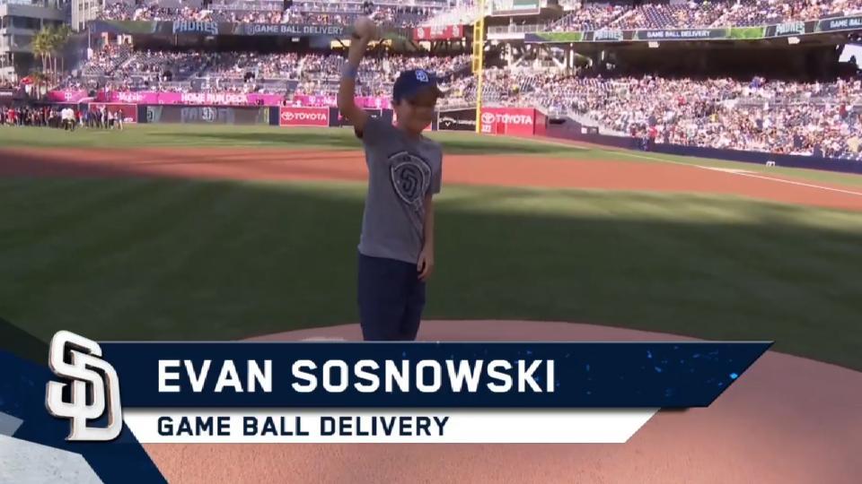 4/22/17: Sosnowski delivers ball