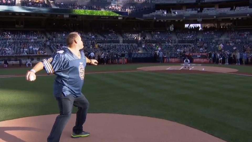 4/22/17: Brown's Honorary Pitch