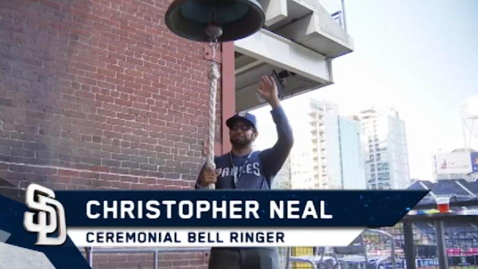 5/2/17: Neal rings the bell