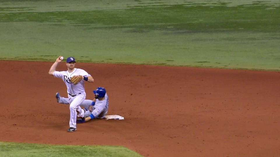 Rays turn two due to slide rule