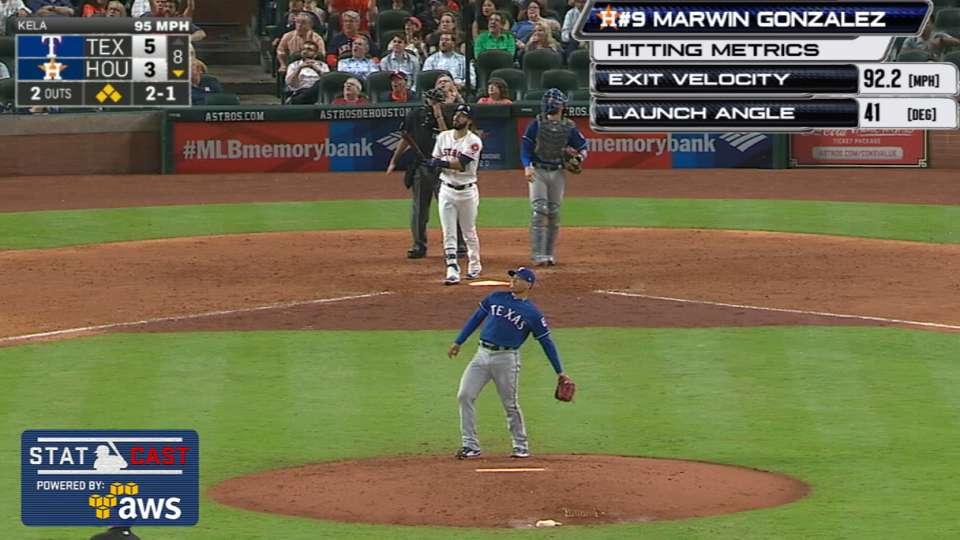 Statcast: Gonzalez's grand slam