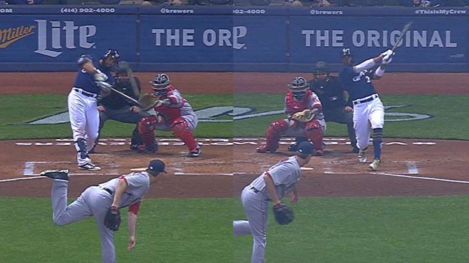 Thames, Broxton homer in the 1st