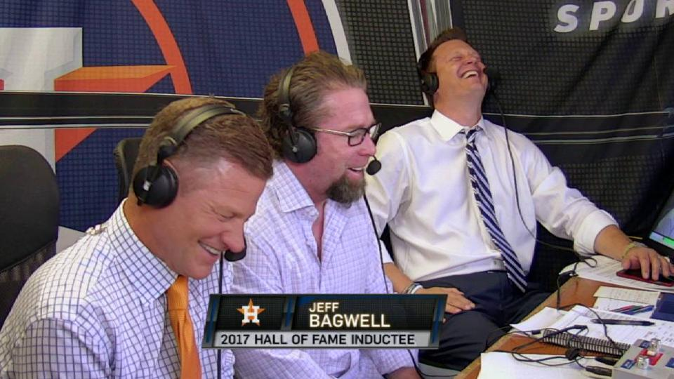 Bagwell on being inducted to HOF