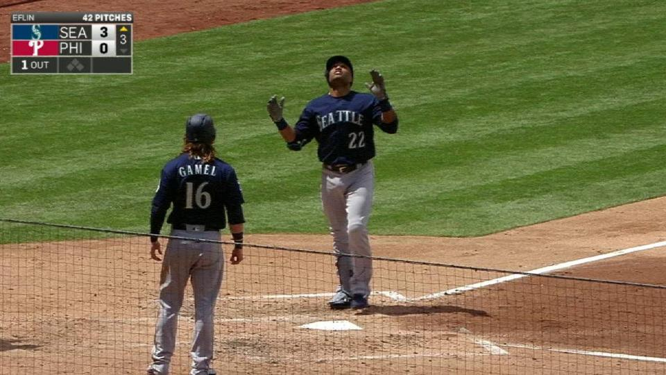 Cano's opposite-field home run