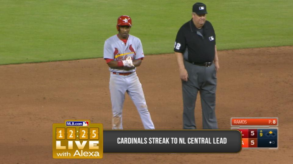 Cardinals surging in NL Central