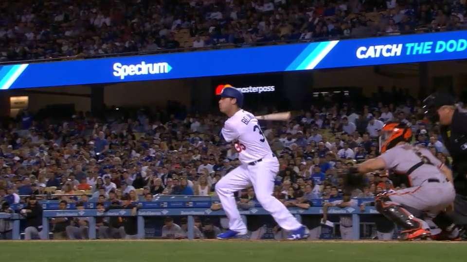 MLB Tonight: Bellinger on swing