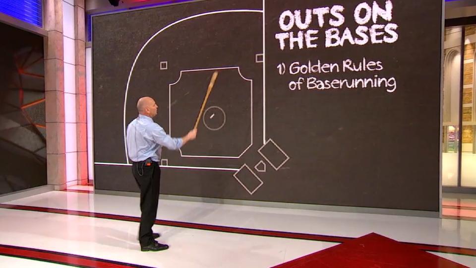 Bill's Blackboard: outs on bases