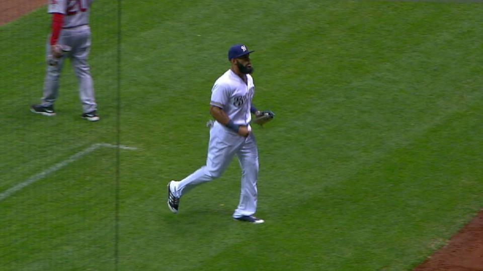 Scahill induces big groundout
