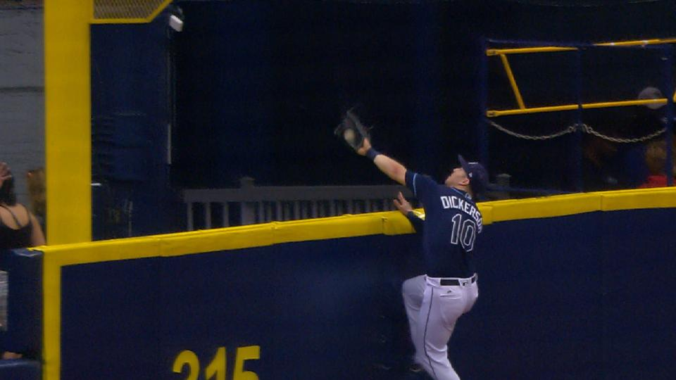 Must C: Dickerson takes HR away