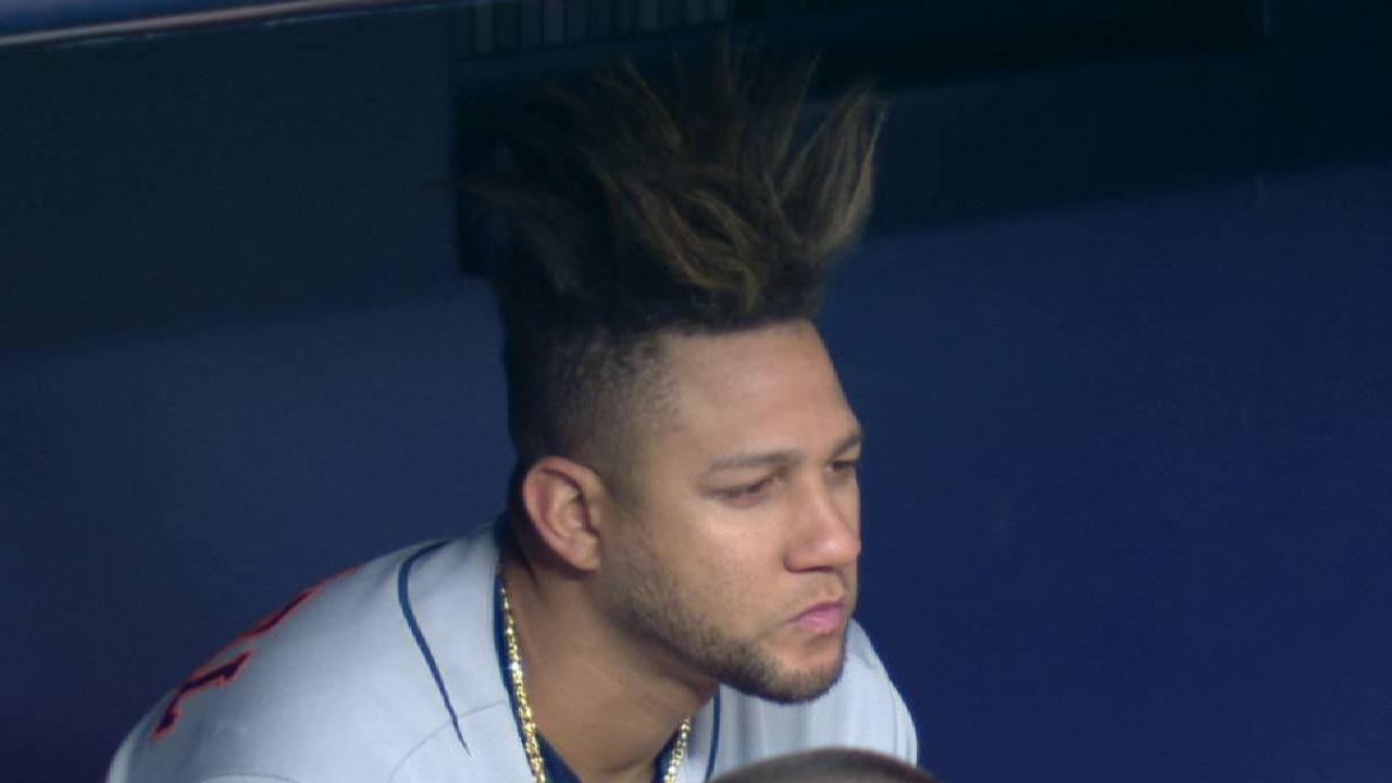 Yuli Gurriel S Awe Inspiring Hair Is Well Worth A Look Mlb Com