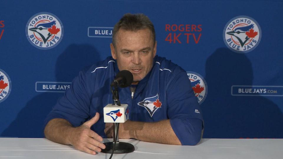 Gibbons on win over Mariners