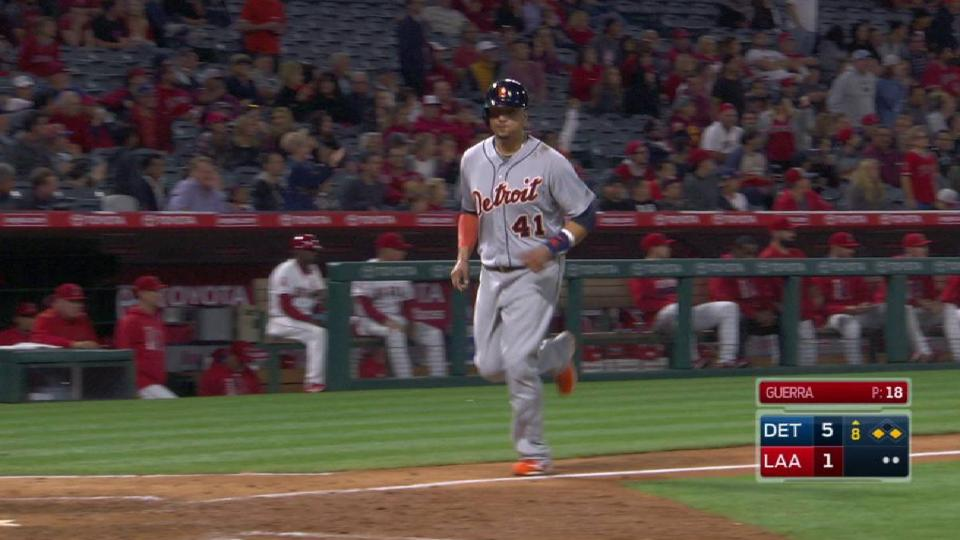 McCann's RBI double