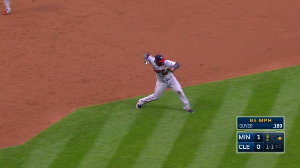 Sano's diving play gets Guyer