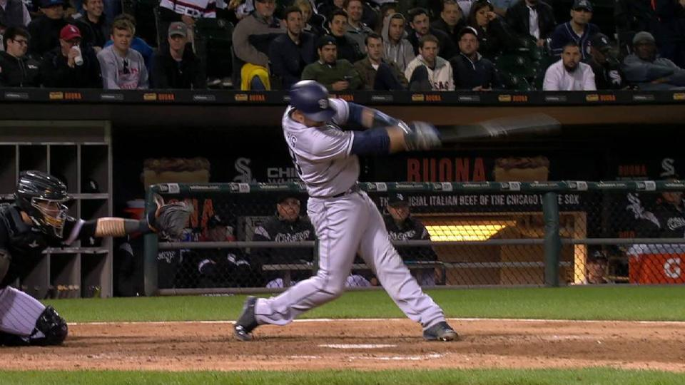 Hedges' solo home run