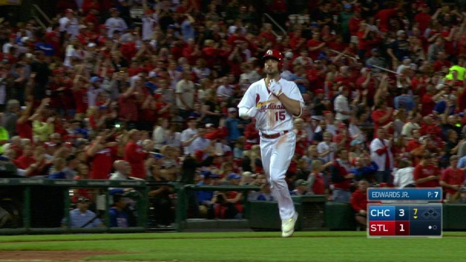 Grichuk's solo homer to center