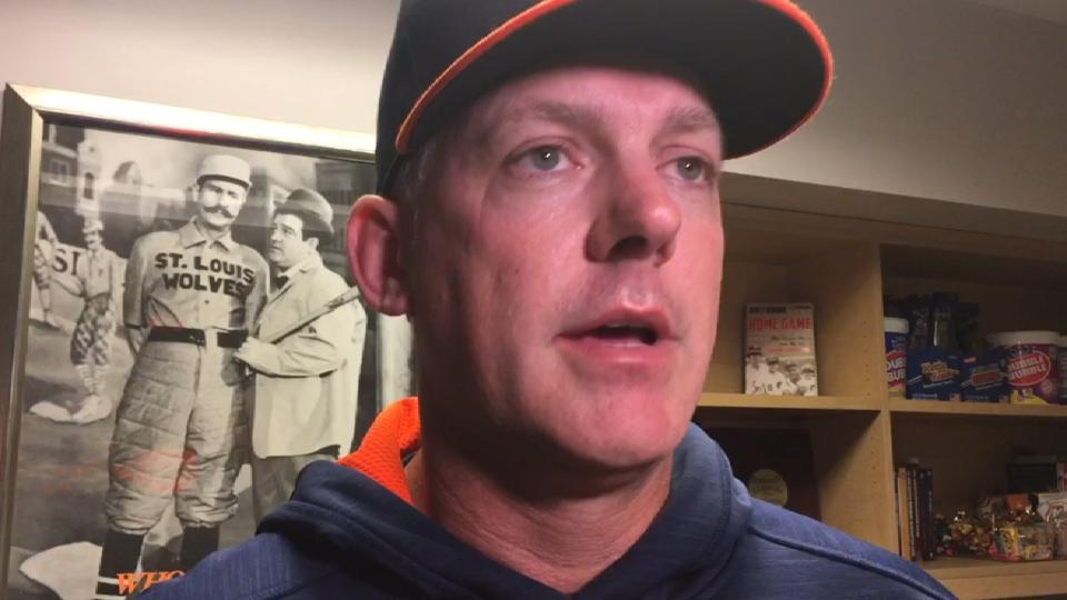 Hinch on McCullers' stellar game