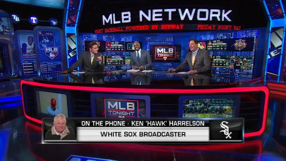 Hawk Harrelson calls MLB Tonight