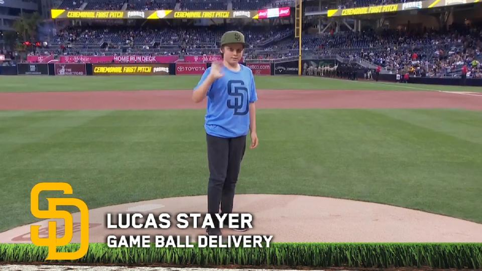5/5/17: Game Ball Delivery