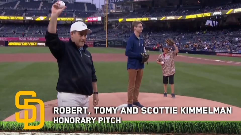 5/5/17: Kimmelman honorary pitch