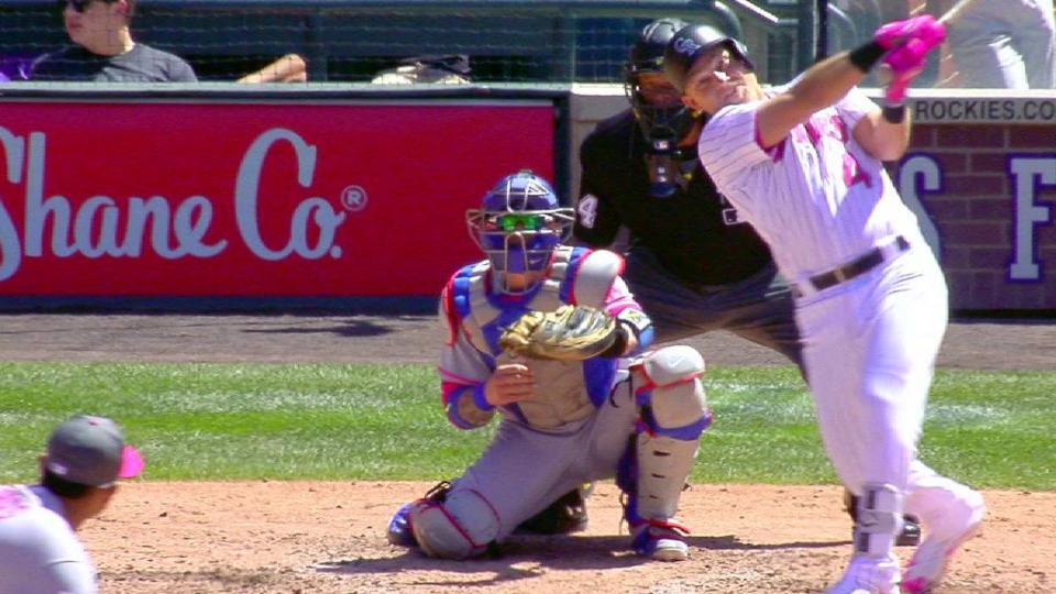 Valaika's two-run homer