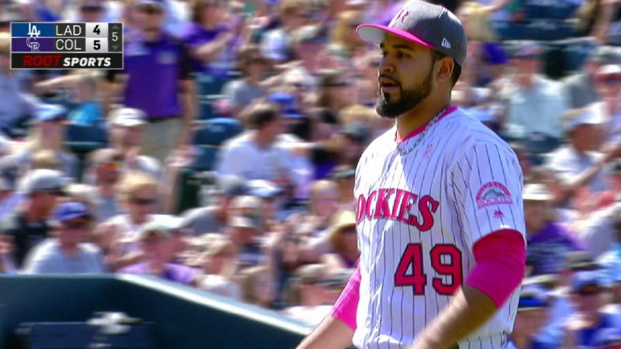 Senzatela, Rockies ganan emotivo duelo ante Dodgers y mantienen la ...