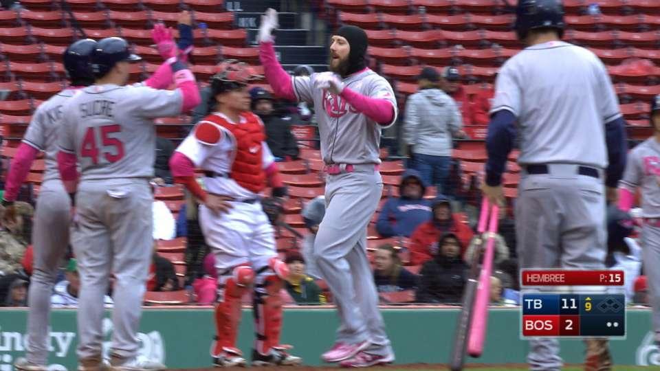 Rays' seven-run 9th inning