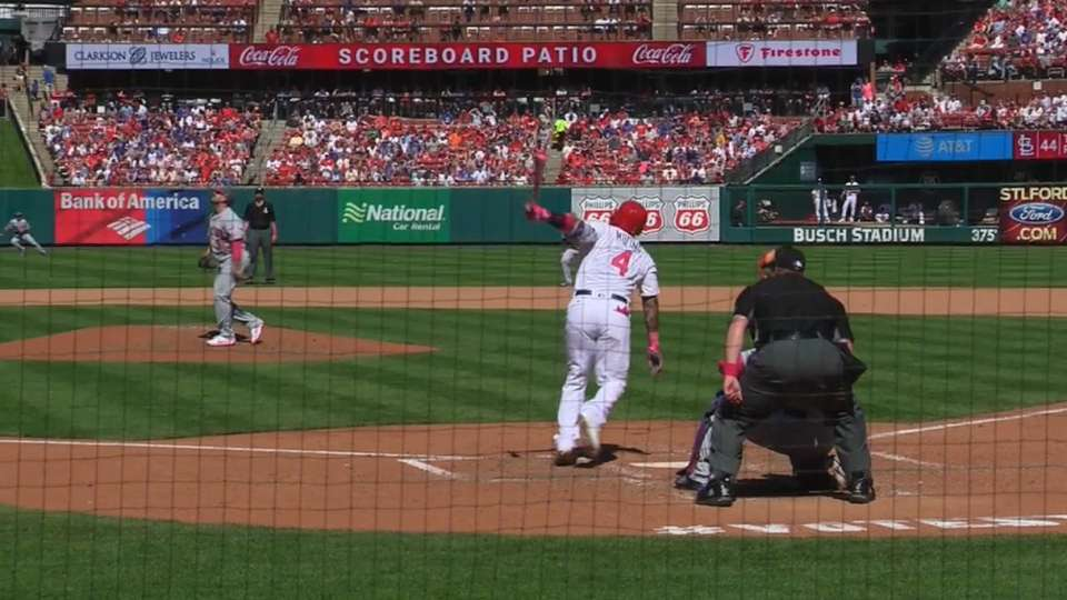 Molina's two-homer day