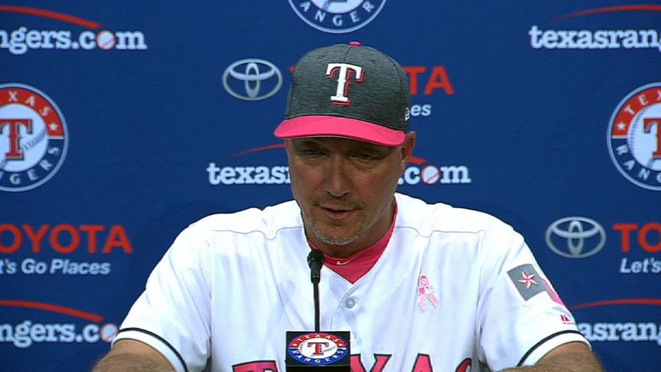 Banister on win over Athletics