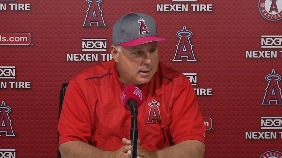 Scioscia on win over Tigers