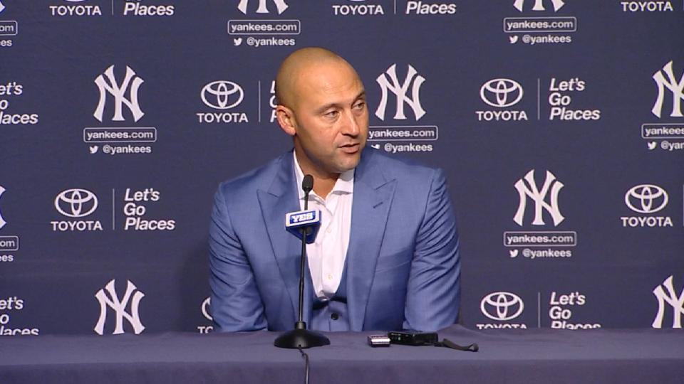 Jeter on meaning of Mother's Day