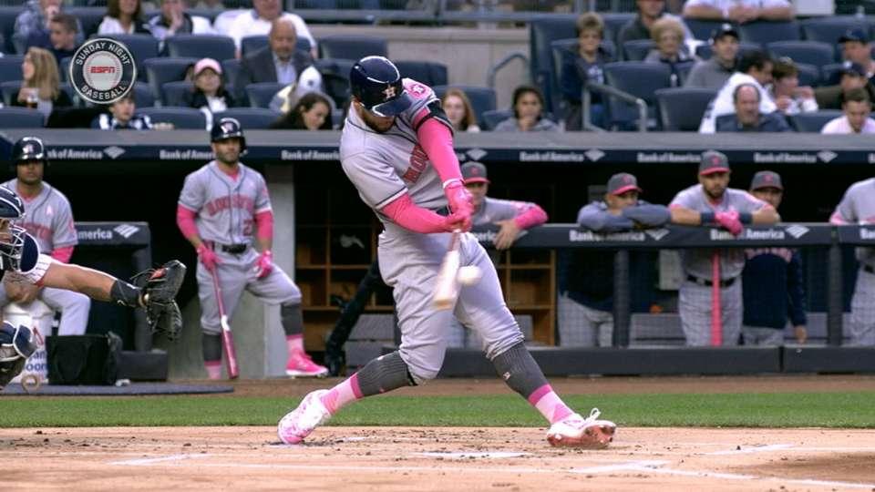 Springer's two-homer game