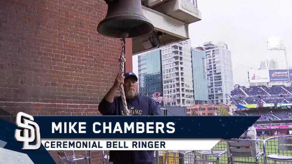 5/6/17: Chambers rings the bell