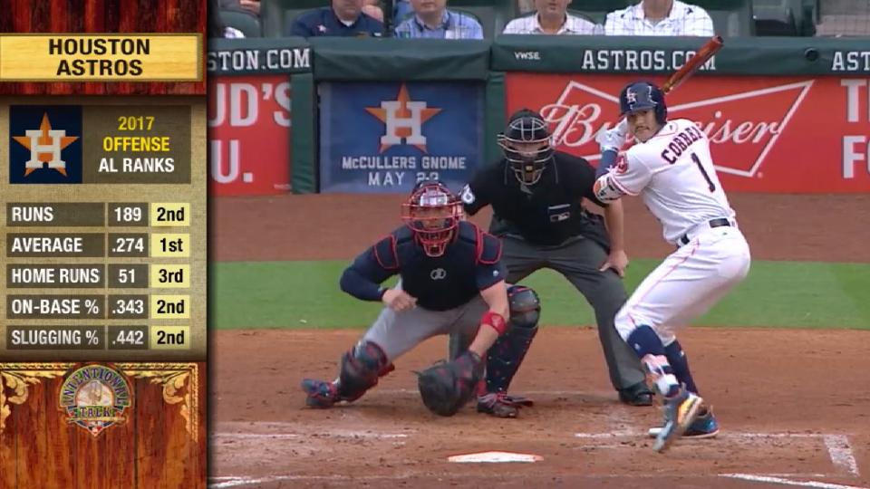 Intentional Talk on Astros