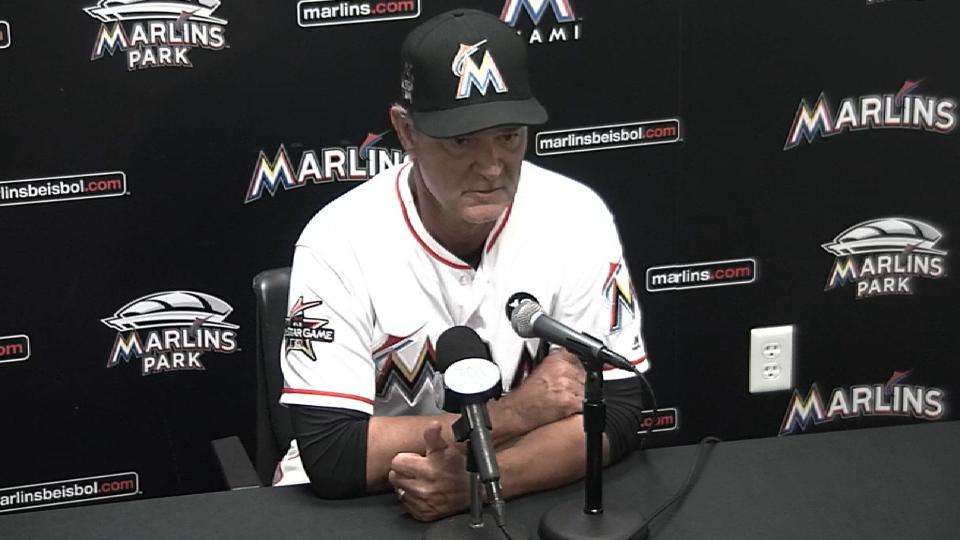 Mattingly on 7-2 loss to Astros