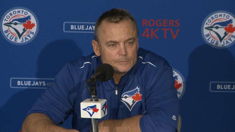 Gibbons on loss to the Braves