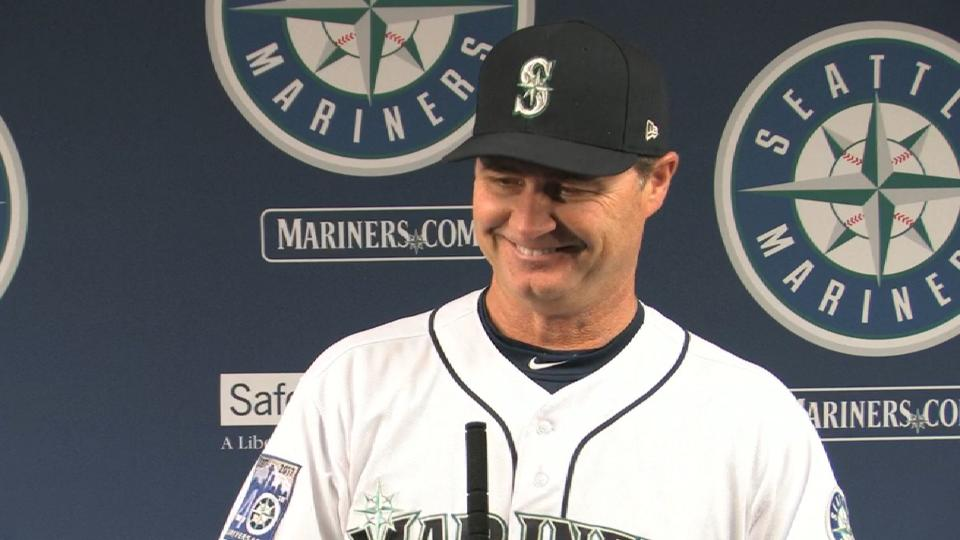 Servais talks holding on for win
