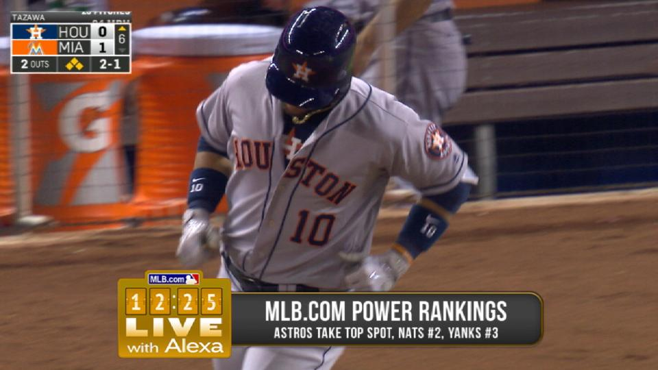 Astros lead MLB power rankings