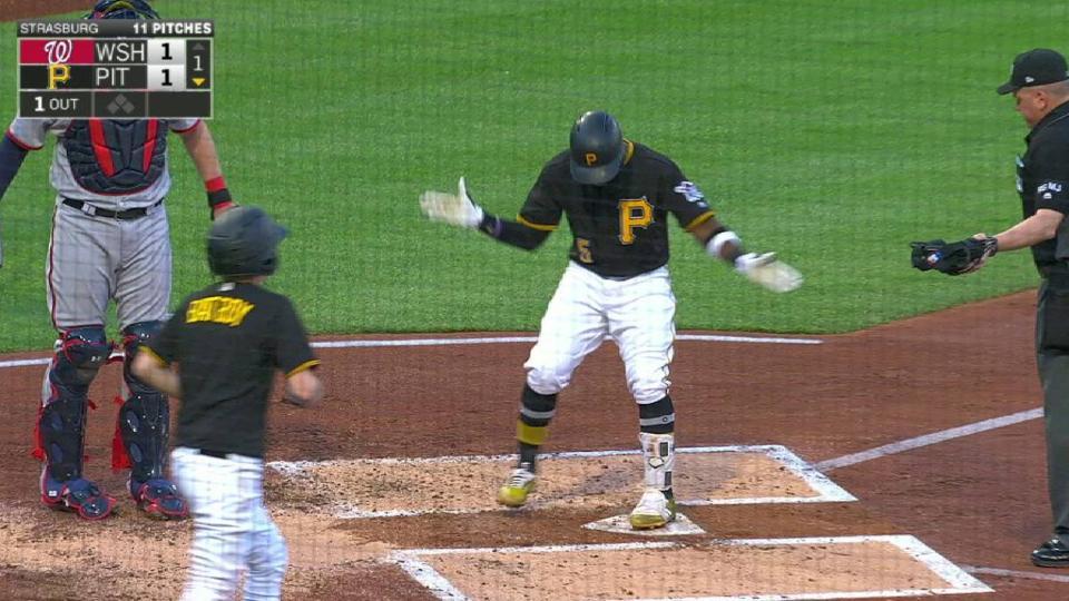 Harrison's solo home run