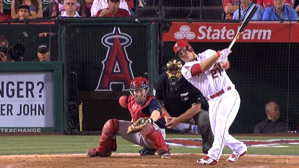 Trout on legendary pace
