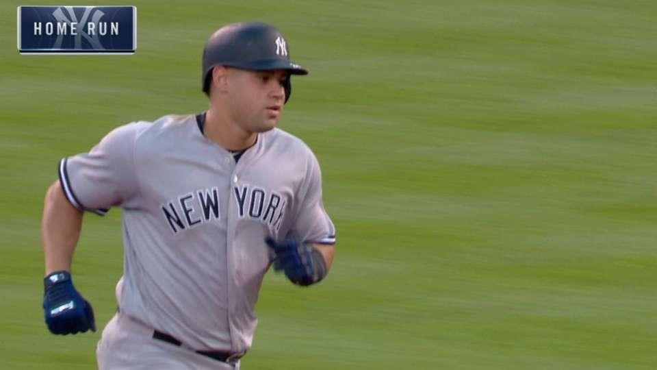 Sanchez's three-run home run