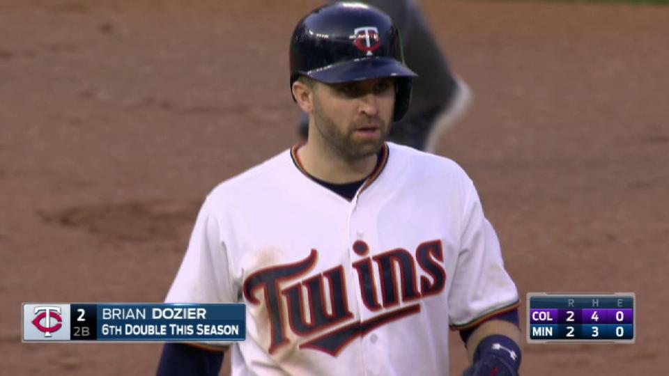 Dozier's RBI double to right