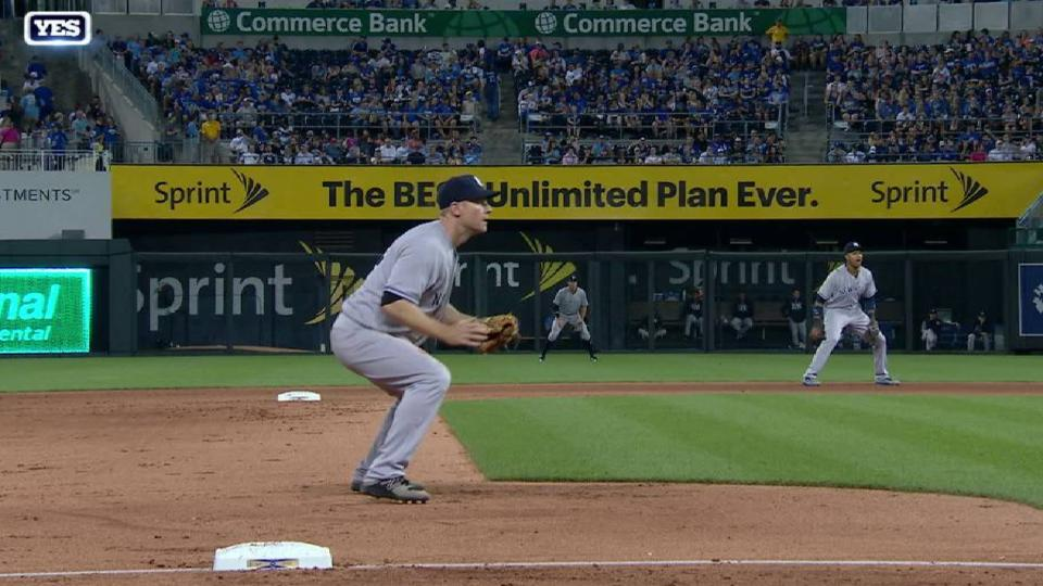 Headley's outstanding stop