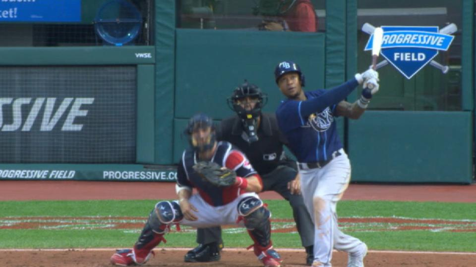Rays' five-homer game