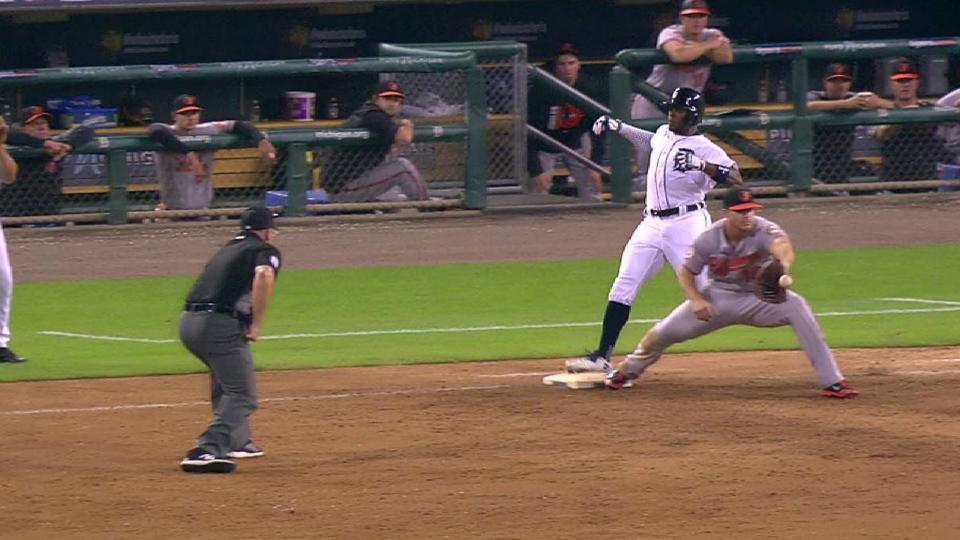 Upton reaches first after review