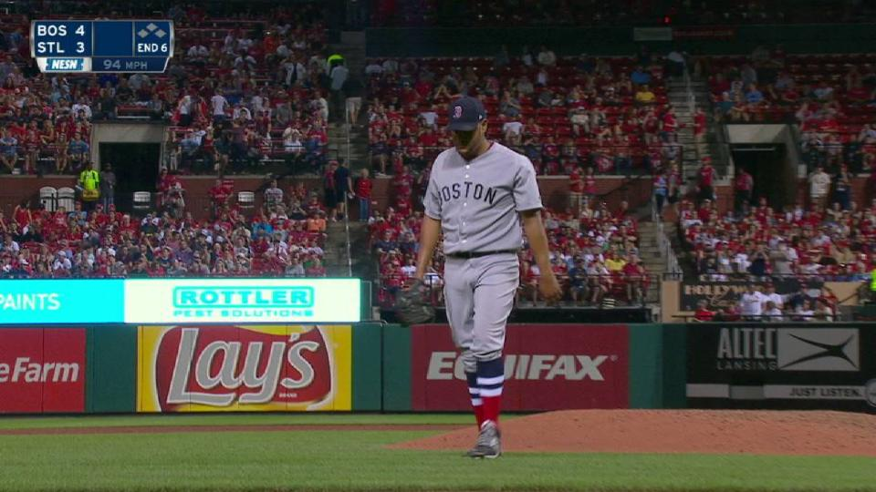 Rodriguez strikes out Grichuk