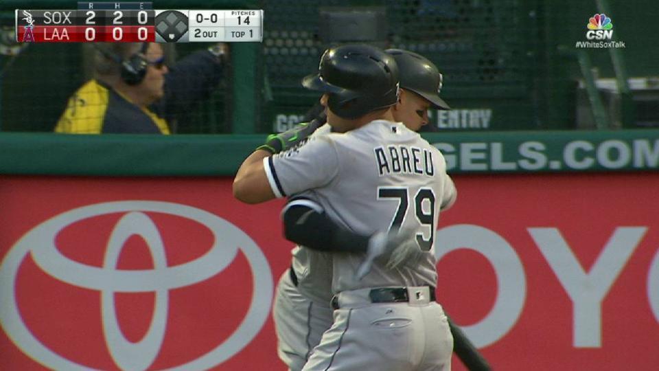 Abreu's two-run home run